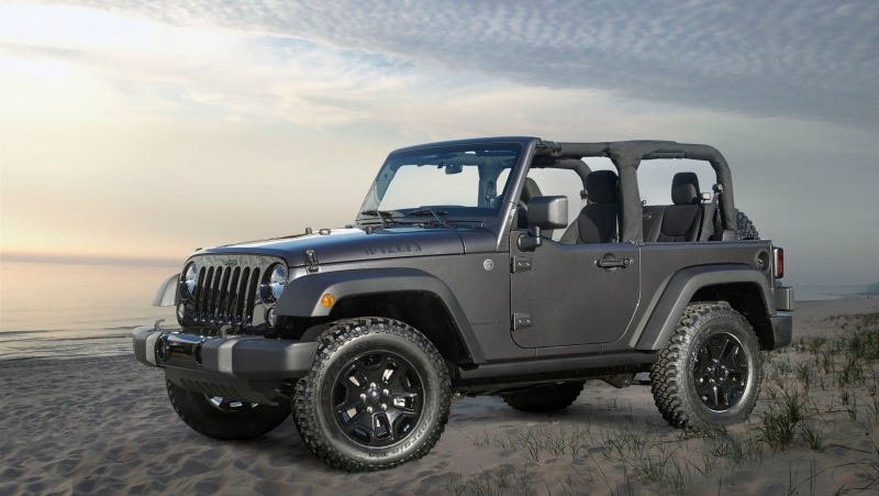 New 2014 Jeep® Wrangler Willys Wheeler Edition: A Classic Throwback With Modern Capability