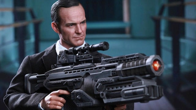 All hail the world's greatest Agent Coulson action figure, i.e. the world's greatest action figure