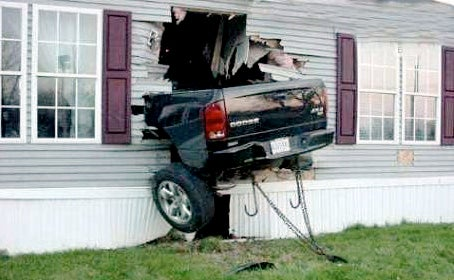 Runaway Car Knocks New Zealand Man Off Toilet, Ruins Reader's Digest