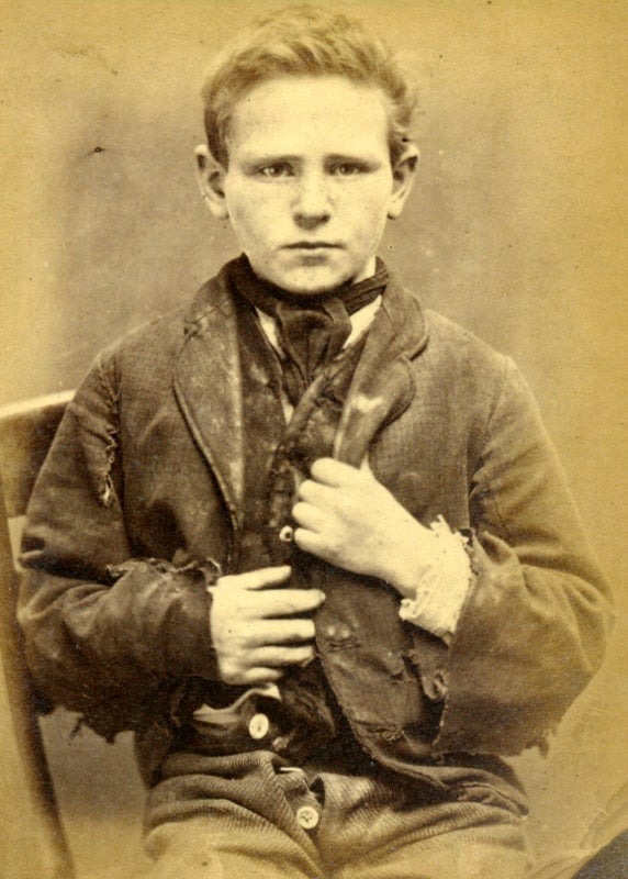 Child mugshots of the 1800s were like a depressing episode of The Little Rascals