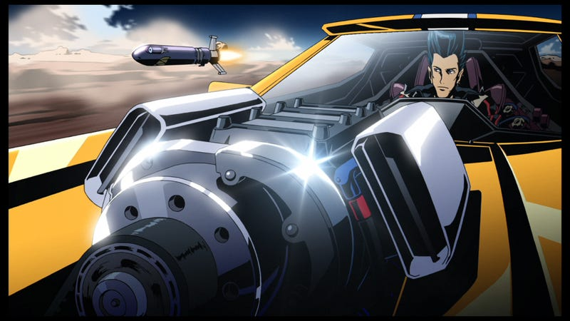 Your New Anime Thrillride: REDLINE is like Speed Racer with missiles, lasers and killer robots