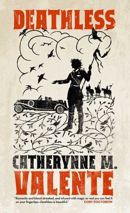 The coolest looking book cover we've seen in ages: Catherynne M. Valente's Deathless