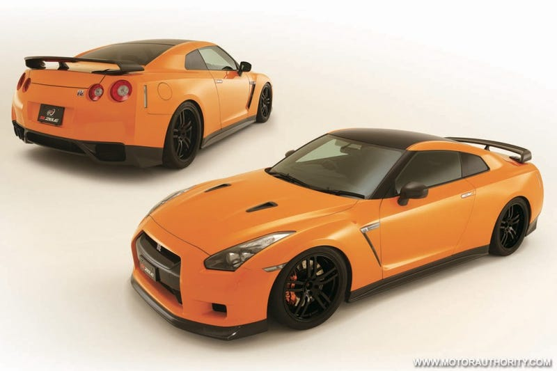 "Zele Nissan GT-R ""Complete Edition"" Obliterates Price Tag At $205,000"