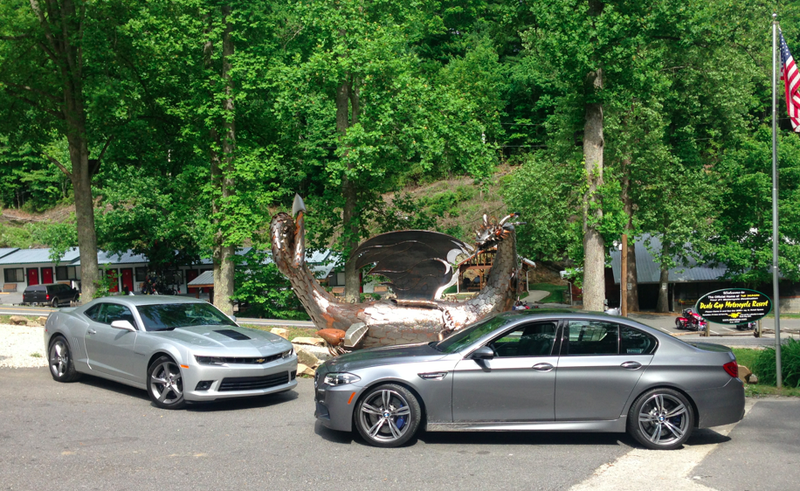 I Took a Rented BMW M5 and Chevy Camaro SS to the Tail of the Dragon