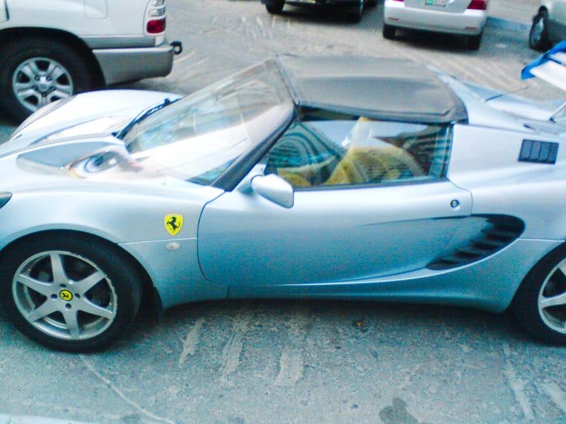 Ferrari Elise Looks Suspicious