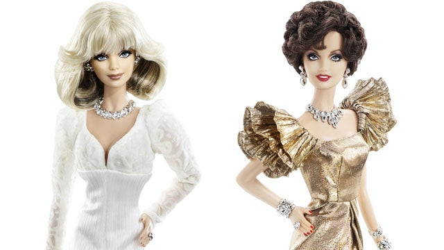 Dynasty Characters Get the Barbie Doll Treatment
