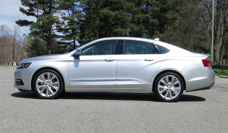 The 2014 Chevy Impala Is Actually Pretty Damn Good