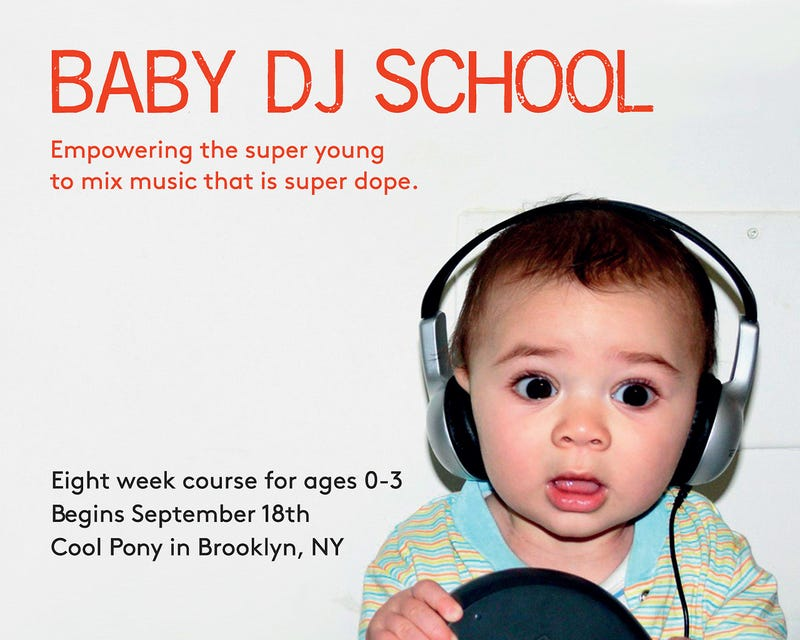 Baby DJ School Stretches Hipster Parenting Tropes to Breaking Point