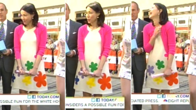 Ann Curry's Cute Summer Dress Costs More Than Your Rent