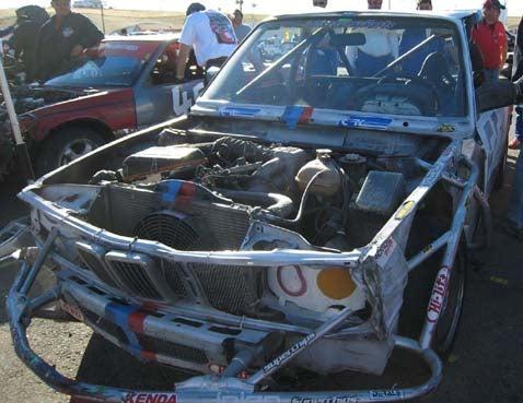 The 24 Hours of LeMons Winner: Black Iron Racing's BMW