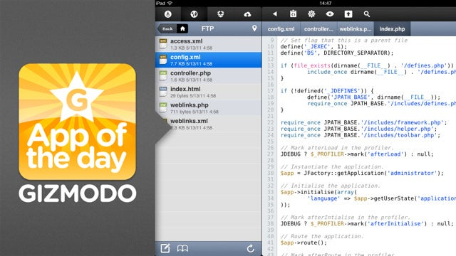 Koder for iPad: Nerds Rejoice! You Can Code on Your iPad