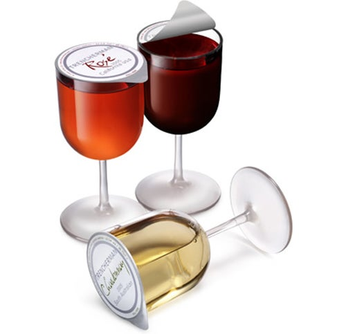 Single Serving Wine Glass Drowns Your Multiple Sorrows