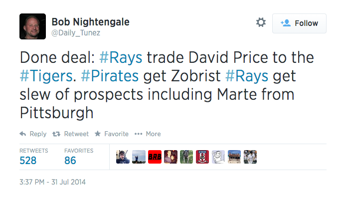 Did ESPN Get Fooled By A Fake Twitter Account Reporting A Zobrist Trade?