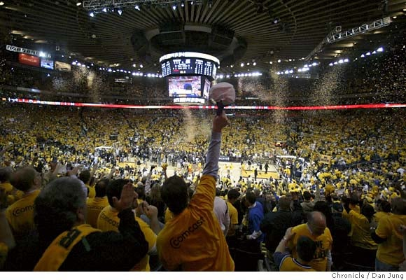The View From Oracle Arena: Proof It Really Happened