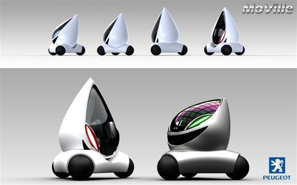 2008 Peugeot Design Contest Picks Top Ten Future Cars We'll Never See