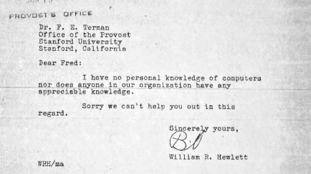 55 Years Ago, the Founder of HP Apologized for Knowing Nothing About Computers
