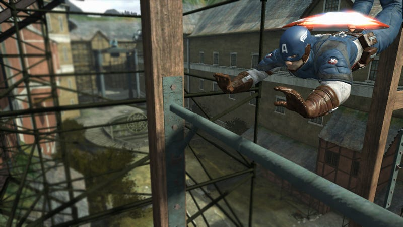 Raise Your Expectations For The Captain America Video Game