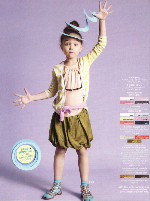 Who Needs Clothes When Crewcuts Kids Are So Freaking Cute?