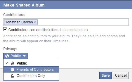 Facebook's Shared Photo Albums Consolidate Your Photos Into One Place