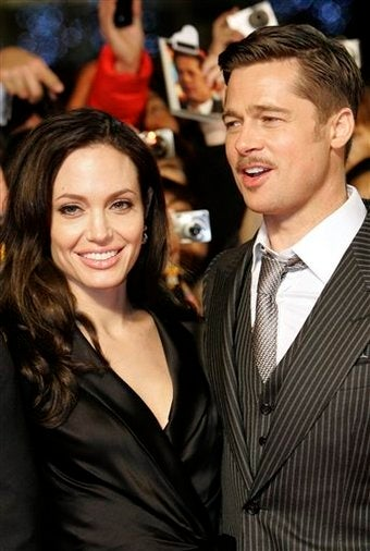 Brad Pitt and Angelina Jolie are Pool-Sexing Fetishists