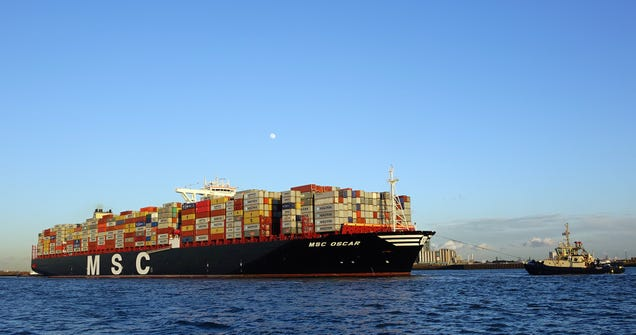 The Ten Biggest Ships In The World
