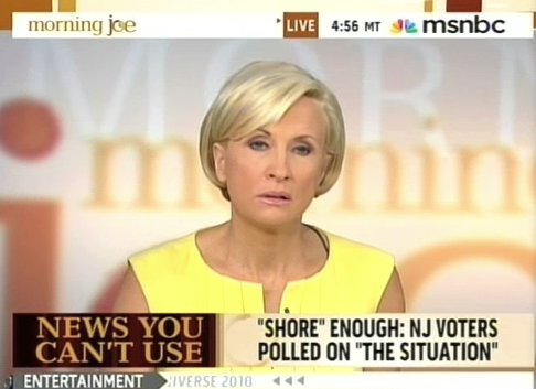 Mika Brzezinski is The Situation's Biggest Fan
