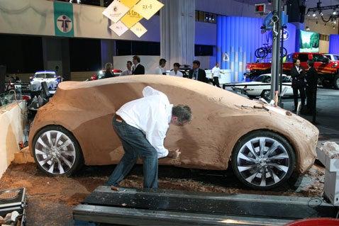 LA Auto Show: Mazda Clay Concept