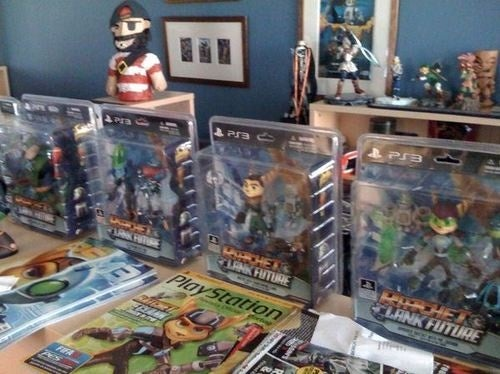 Ratchet & Clank Toys Hit Next Month!