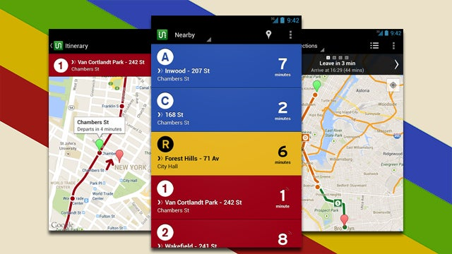Transit Public Transportation App Arrives on Android