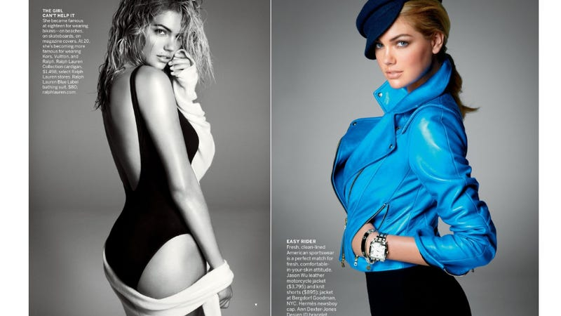 See Kate Upton's Spread In Vogue