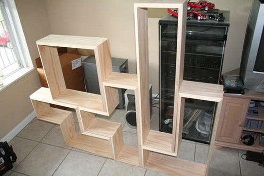 How to Build a Tetris Shelf