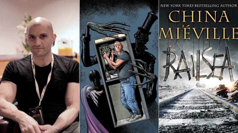 Fantasy Author China Miéville Discusses Random Superpowers, DC Comics' Dial H for Hero and Video-Game God Mode