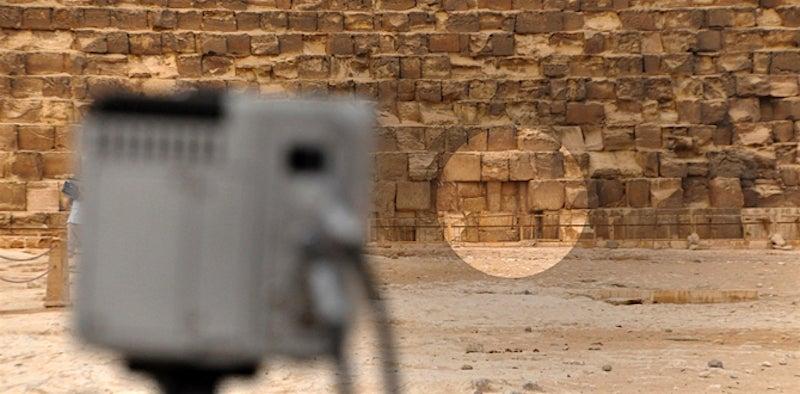 Escáner térmico revela anomalia en la gran piramide