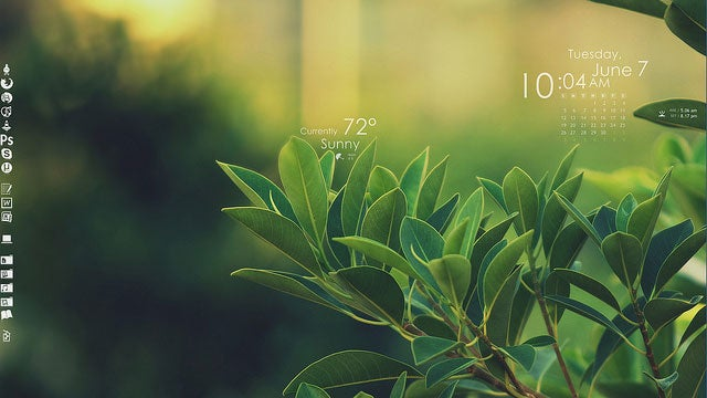 The Green Leaves Desktop