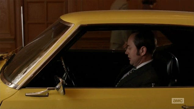 A Very Special Mad Men Teaches The Importance Of Stick Shift Driving