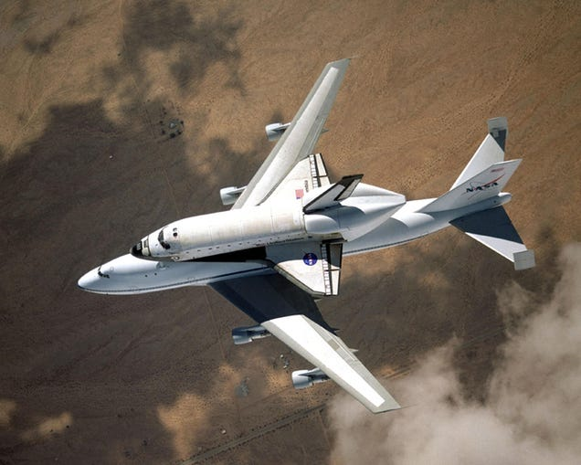 Goodbye space shuttle carrier—and thank you for being awesome