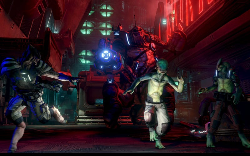 Prey 2's E3 Screens Proves Aliens Do Indeed Wear Pants