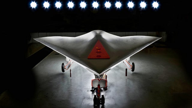 Watch the first footage of the UK's Cylon-like stealth drone in flight