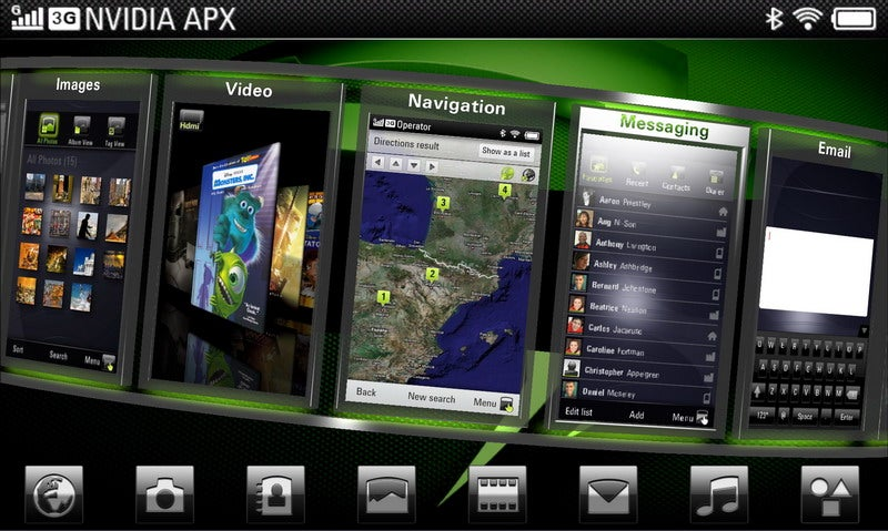 Nvidia Tegra All-in-One Mobile Processors Aim to Nuke Intel's Atom, Promise 30 Hours HD Playback