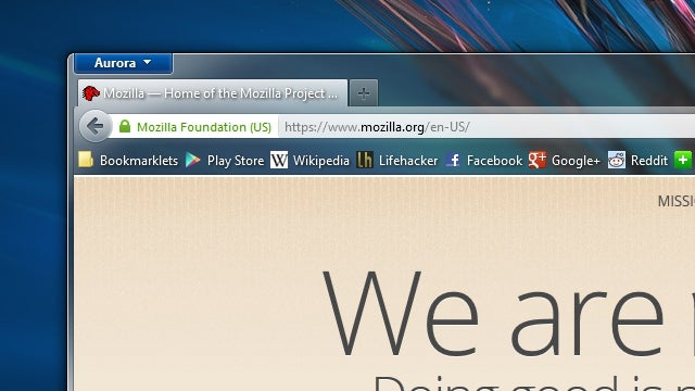 Firefox 14 Supports Secure Google Searches, OS X Full Screen Mode, and More