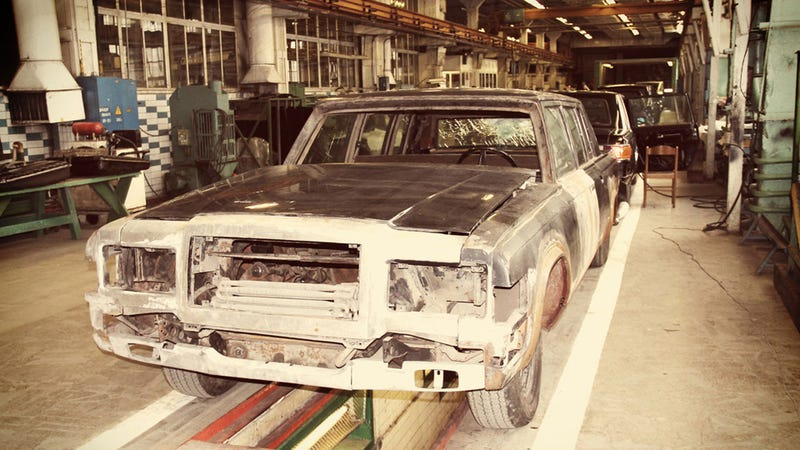 Take A Look Inside The Russian Factory Where Ultra Exclusive ZIL Limos Are Built