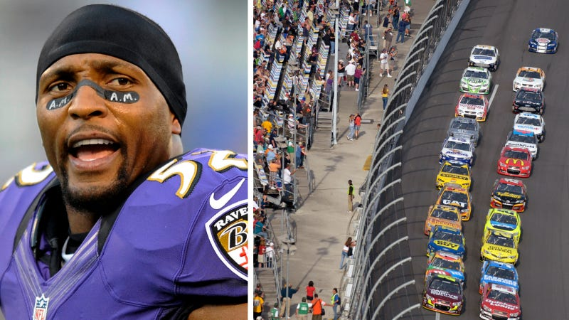 Ravens' Ray Lewis Will Be The Honorary Starter At The Daytona 500
