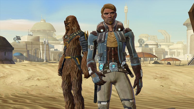 The Old Republic's Smuggler Gets Its Own Wookie