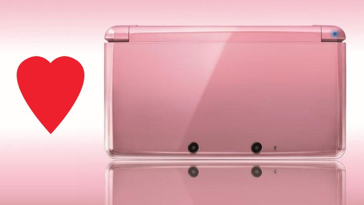 "Because Nothing Says ""I Love You"" Like a Pearl Pink Nintendo Handheld"