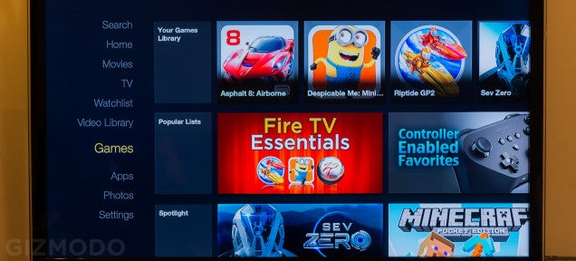 Amazon Fire TV Review: A Fast Ride That'll Cost You