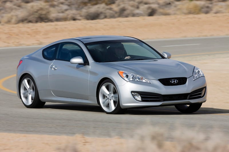 2010 Hyundai Genesis Coupe Spied In Santa Monica
