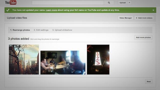 Upload Photos to YouTube for a Simple and Easy to Share Slideshow
