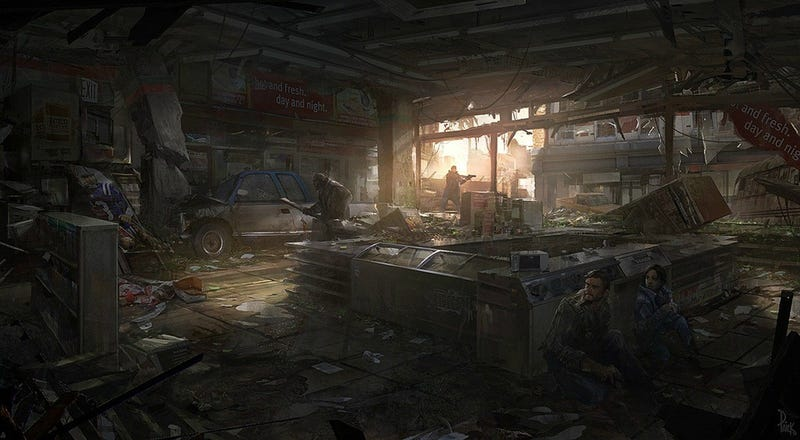The First Art From The Last Of Us