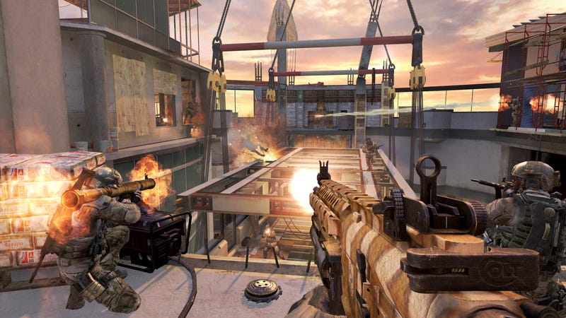 In Two Weeks, You'll Fall to Your Death in the Next Call of Duty DLC Map
