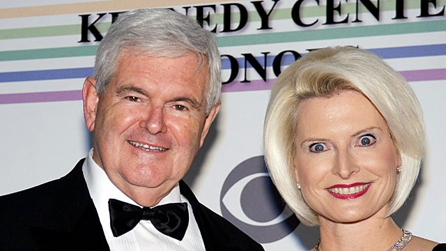 Newt Gingrich's Third Wife Is a Nightmarish Harpy